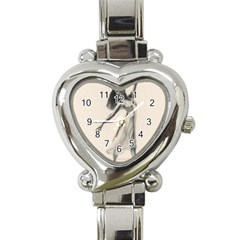 Perfect Grace Heart Italian Charm Watch