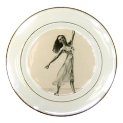 Perfect Grace Porcelain Display Plate