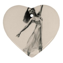 Perfect Grace Heart Ornament (Two Sides)