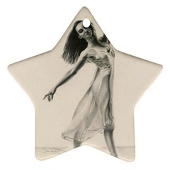 Perfect Grace Star Ornament (Two Sides)