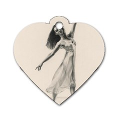 Perfect Grace Dog Tag Heart (Two Sided)