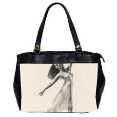 Perfect Grace Oversize Office Handbag (two Sides)