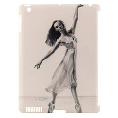 Perfect Grace Apple Ipad 3/4 Hardshell Case (compatible With Smart Cover)