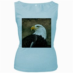 Eagle Women s Tank Top (Baby Blue)