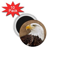 Eagle 1.75  Button Magnet (10 pack)