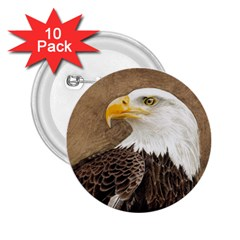 Eagle 2 25  Button (10 Pack)