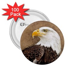 Eagle 2.25  Button (100 pack)