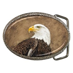 Eagle Belt Buckle (oval)