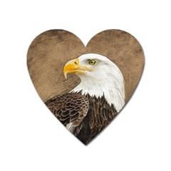 Eagle Magnet (Heart)