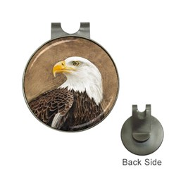 Eagle Hat Clip with Golf Ball Marker
