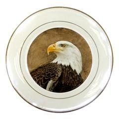 Eagle Porcelain Display Plate