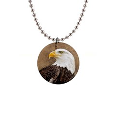 Eagle Button Necklace