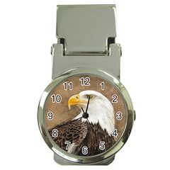Eagle Money Clip With Watch