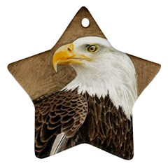 Eagle Star Ornament (Two Sides)