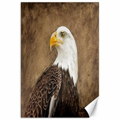 Eagle Canvas 20  X 30  (unframed)