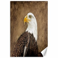 Eagle Canvas 24  x 36  (Unframed)