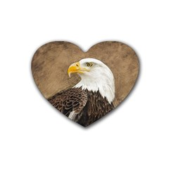 Eagle Drink Coasters 4 Pack (Heart)