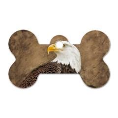 Eagle Dog Tag Bone (One Sided)