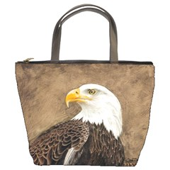 Eagle Bucket Handbag