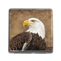 Eagle Memory Card Reader With Storage (square)