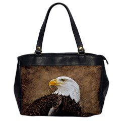Eagle Oversize Office Handbag (one Side)