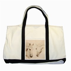 Tender Approach  Two Toned Tote Bag