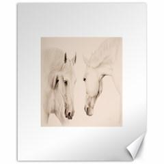Tender Approach  Canvas 16  x 20  (Unframed)