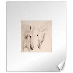 Tender Approach  Canvas 20  x 24  (Unframed)
