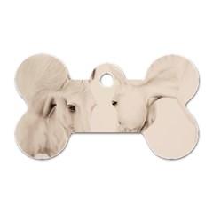 Tender Approach  Dog Tag Bone (one Sided)