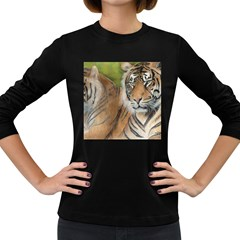 Soft Protection Women s Long Sleeve T-shirt (Dark Colored)