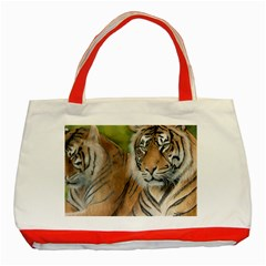 Soft Protection Classic Tote Bag (Red)