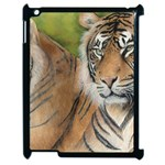 Soft Protection Apple iPad 2 Case (Black) Front