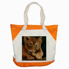Playful  Accent Tote Bag