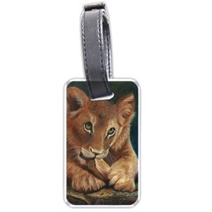 Playful  Luggage Tag (Two Sides)
