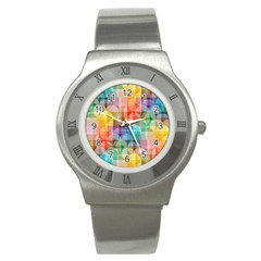 circles Stainless Steel Watch (Slim)