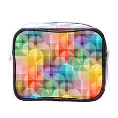 circles Mini Travel Toiletry Bag (One Side)