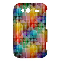 circles HTC Wildfire S A510e Hardshell Case