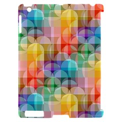 circles Apple iPad 2 Hardshell Case (Compatible with Smart Cover)
