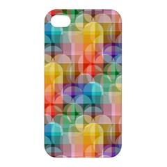 Circles Apple Iphone 4/4s Premium Hardshell Case
