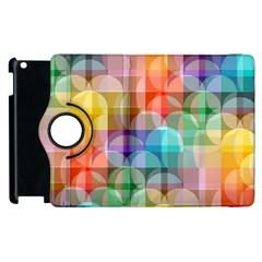 Circles Apple Ipad 2 Flip 360 Case