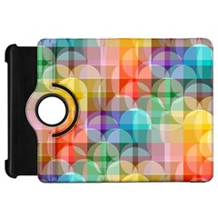 circles Kindle Fire HD 7  (1st Gen) Flip 360 Case