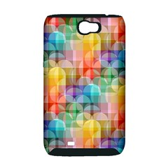 circles Samsung Galaxy Note 2 Hardshell Case (PC+Silicone)