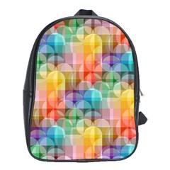 circles School Bag (XL)
