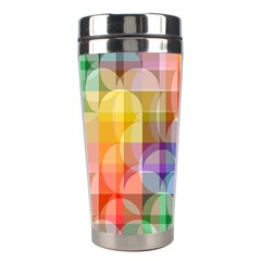 circles Stainless Steel Travel Tumbler