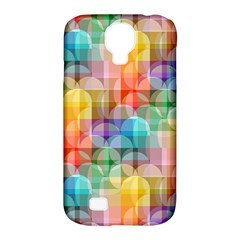 Circles Samsung Galaxy S4 Classic Hardshell Case (pc+silicone)