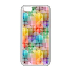 circles Apple iPhone 5C Seamless Case (White)