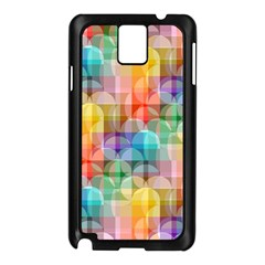 circles Samsung Galaxy Note 3 N9005 Case (Black)