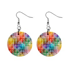 Circles Mini Button Earrings