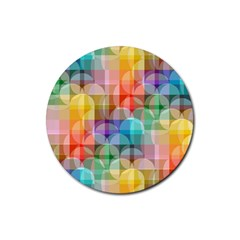 circles Drink Coasters 4 Pack (Round)