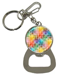 Circles Bottle Opener Key Chain